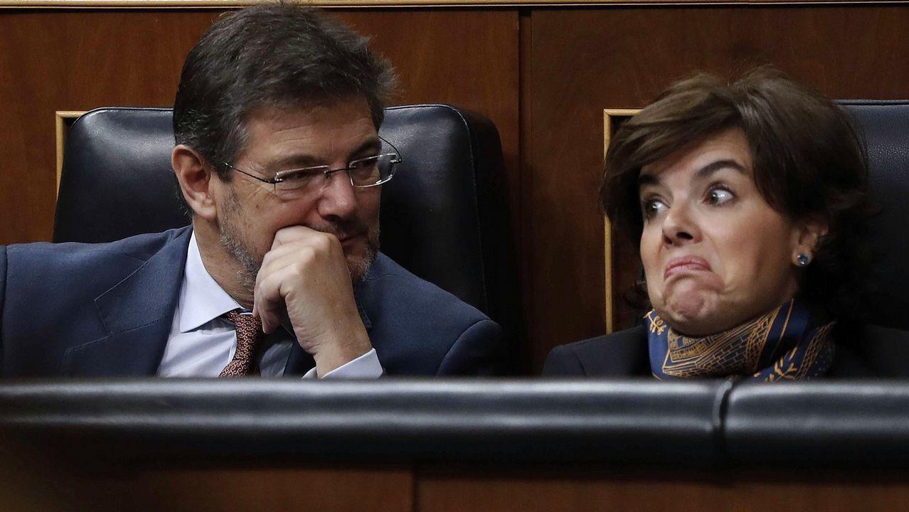 Rajoy y Sánchez se enzarzan al hablar sobre pensiones.Consejo ejecutivo de FADE