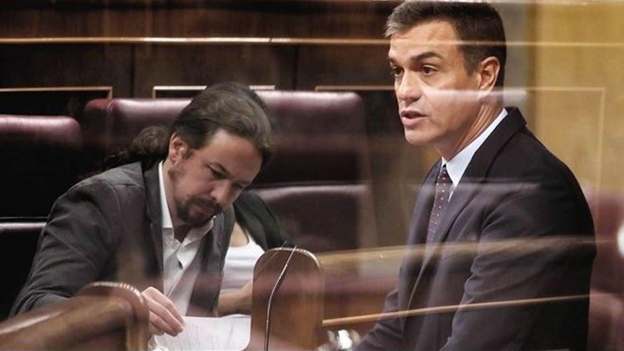 Comparecencia de Pedro Sánchez en el Congreso.Pablo Casado, en una imagen de archivo