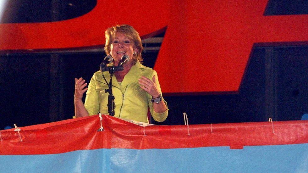 En el 2007 cuando revalidó su victoria en las autonómicas.