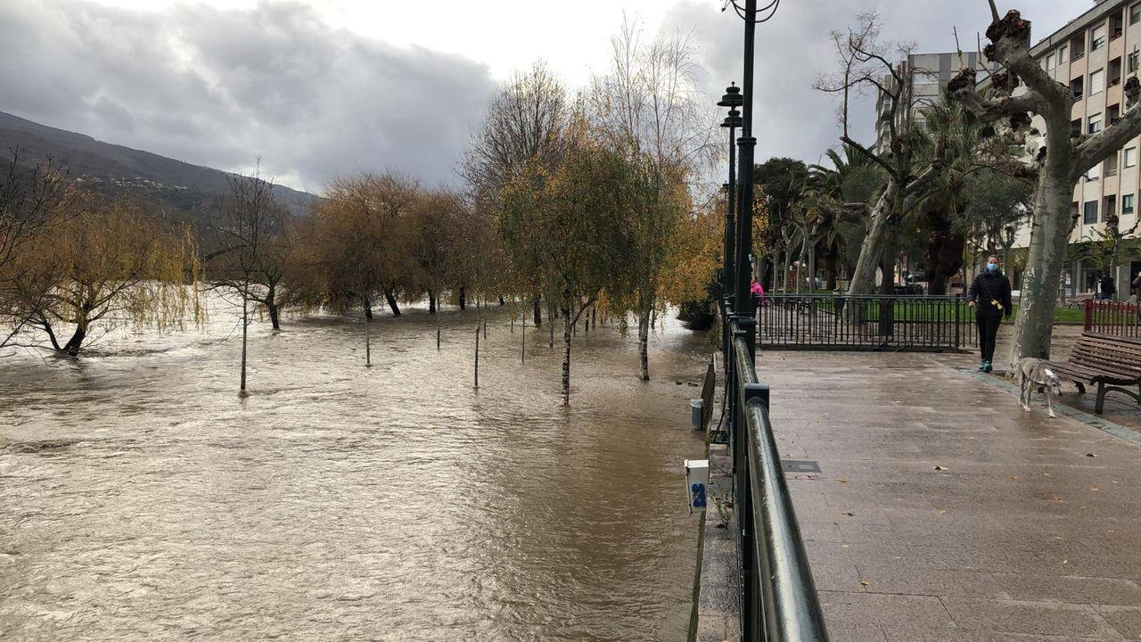 Río Miño a su paso por Ourense.Gavela es el presidente de la Fundación San Rosendo