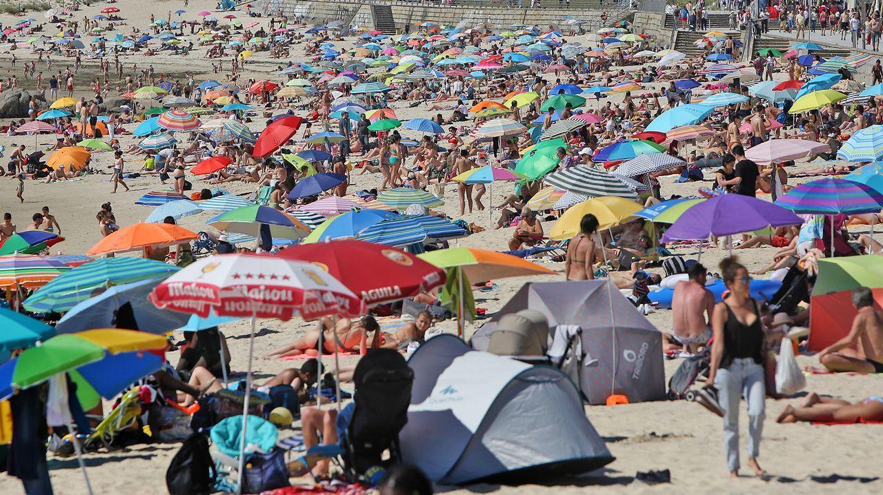 El verano se adelanta en Galicia