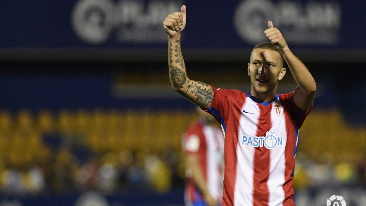 André Sousa celebra su golazo