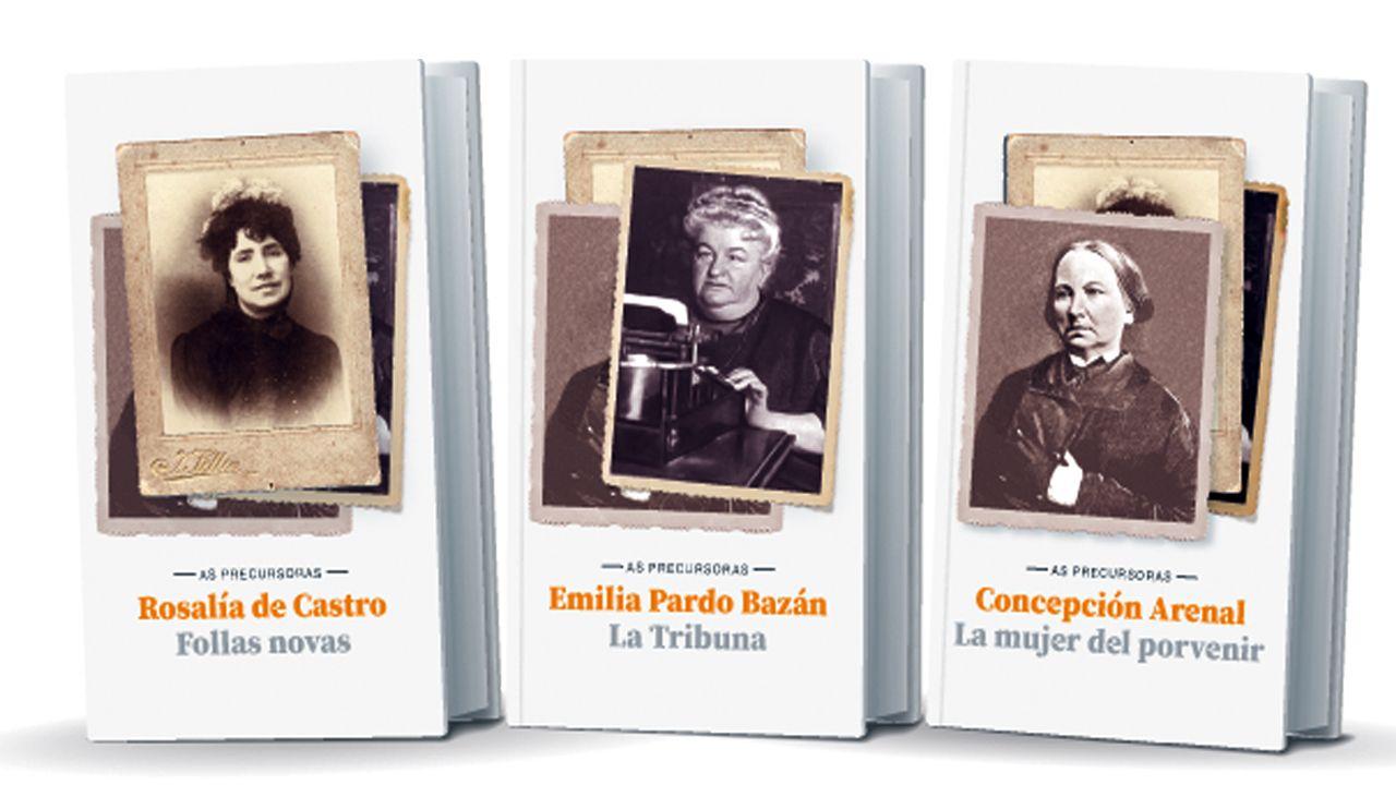 O lector de La Voz poderá levar á casa «Follas novas», «La Tribuna» e «La mujer del porvenir», cada unha ao prezo de 1,95 euros mailo cupón do diario