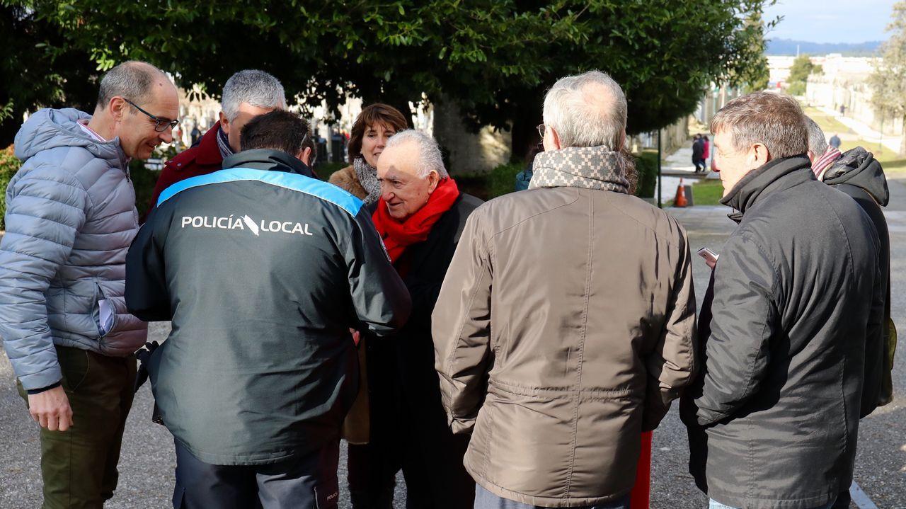 Alonso Montero, identificado por la policía local en Boisaca.Centro de Cultura Antiguo Instituto de Gijón