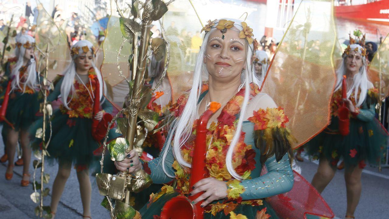 Búscate en el gran desfile del carnaval de Foz