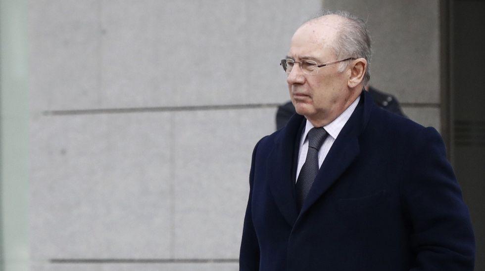 Hacienda ratifica el informe contra Rodrigo Rato ante el juez.Rodrigo Rato, que en el 2011 era presidente de Bankia, en el momento de salida a bolsa de la entidad financiera.