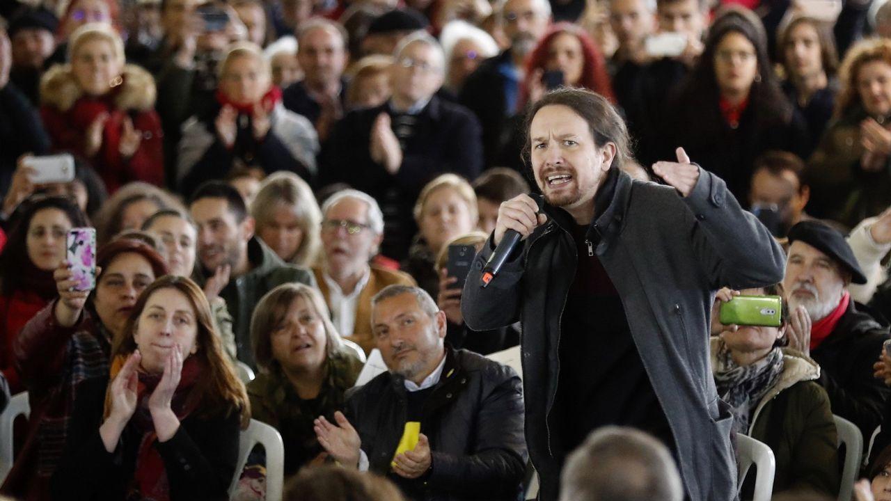 Acto de Pablo Iglesias en Gijón.Juzgados de Avilés