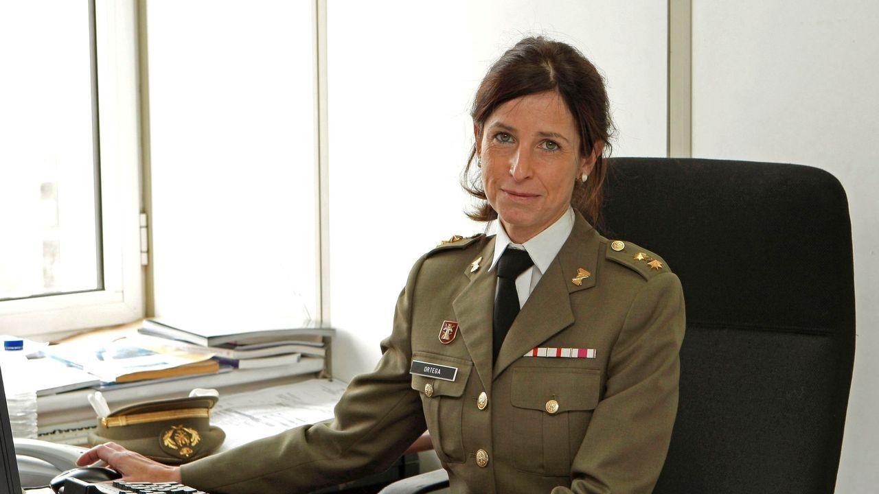 Patricia Ortega, la primera general del Ejército español, en una foto de archivo