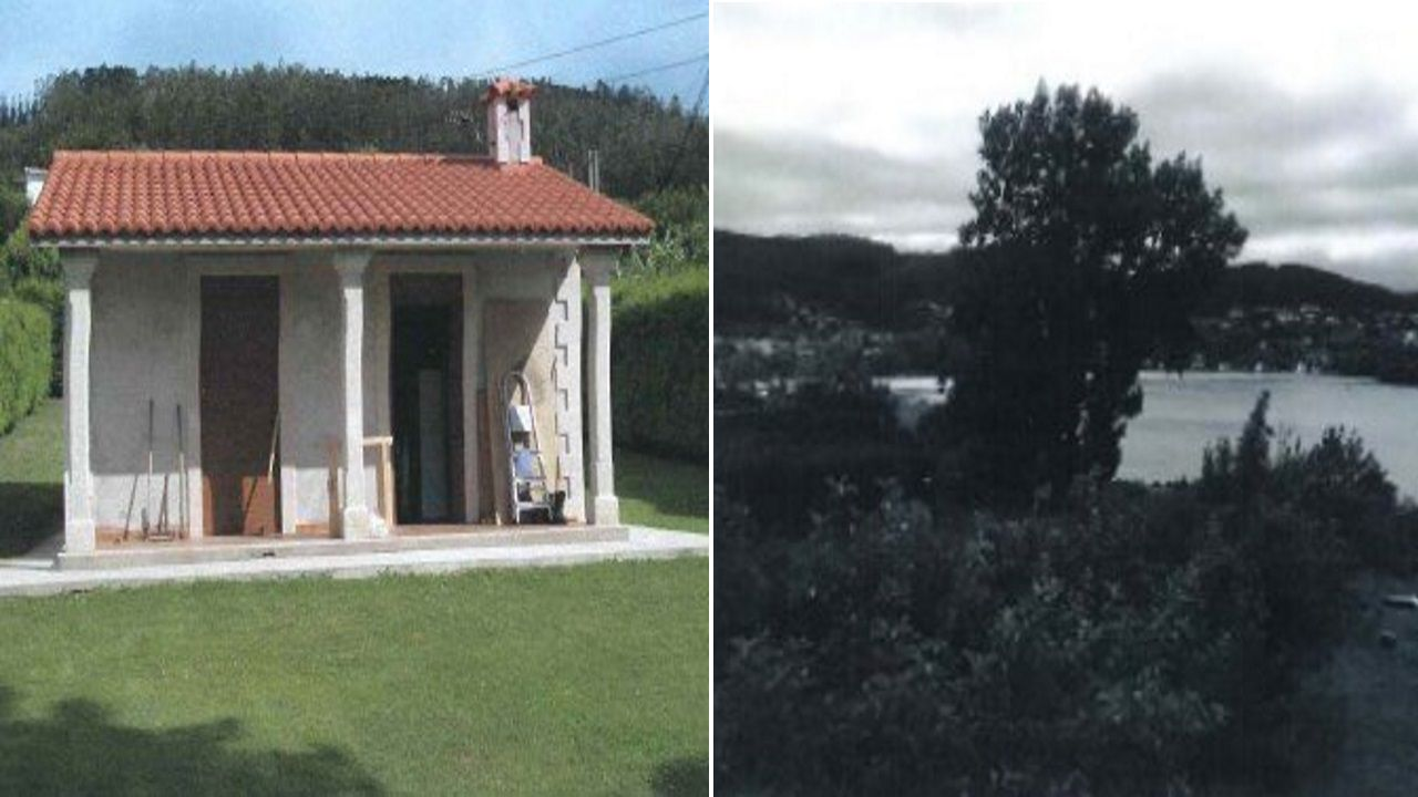 Esta vivienda unifamiliar de Cedeira fue levantada en suelo no urbanizable cerca de la costa. La casa fue derribada en junio el año pasado.