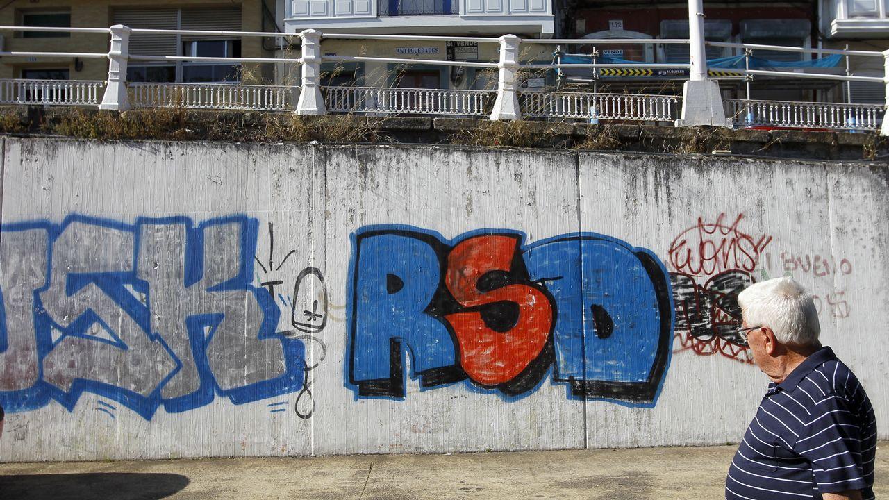 Pintada en Ferrol