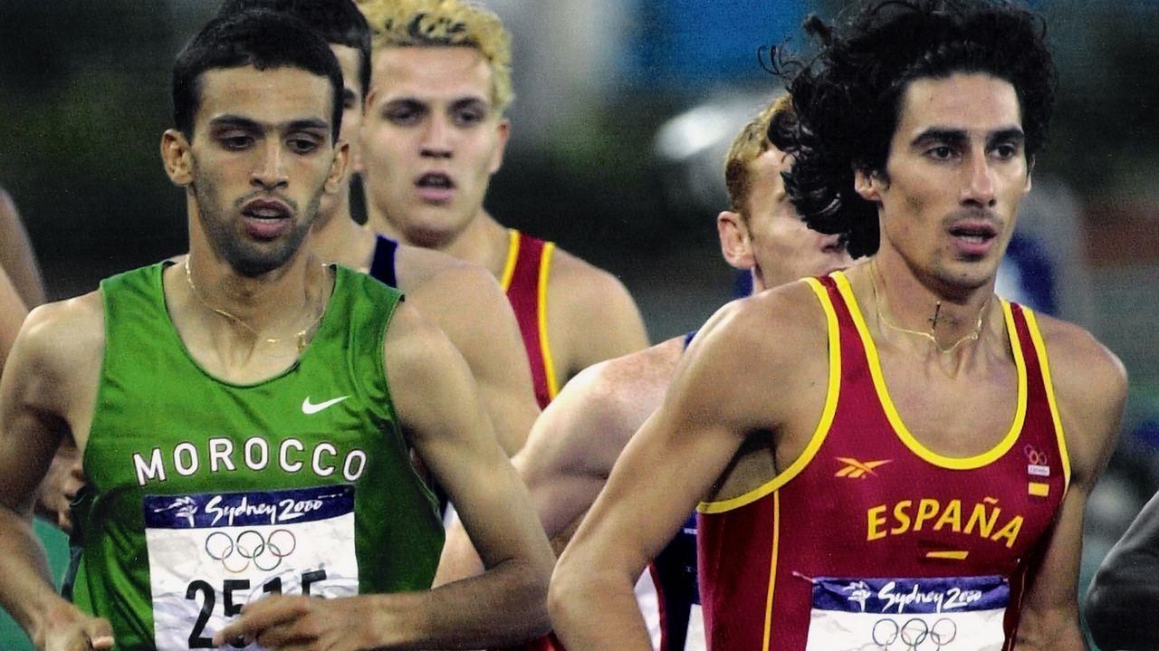 Díaz, en los Juegos Olimpicos de Sídney