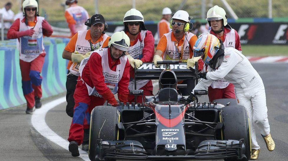 Alonso se despide por todo lo alto en Abu Dabi.La nueva cara de Flavio Briatore