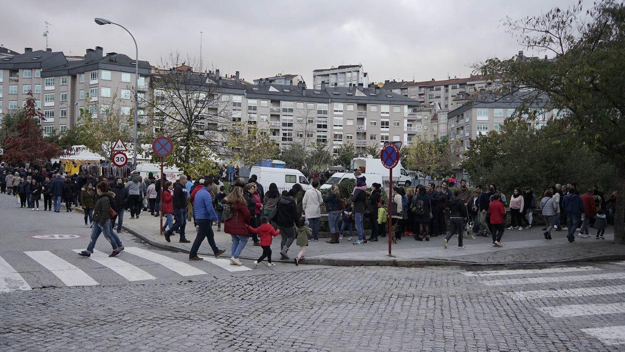 MAGOSTOS 2019.En el parque Barbaña se celebró el magosto del Concello de Ourense.