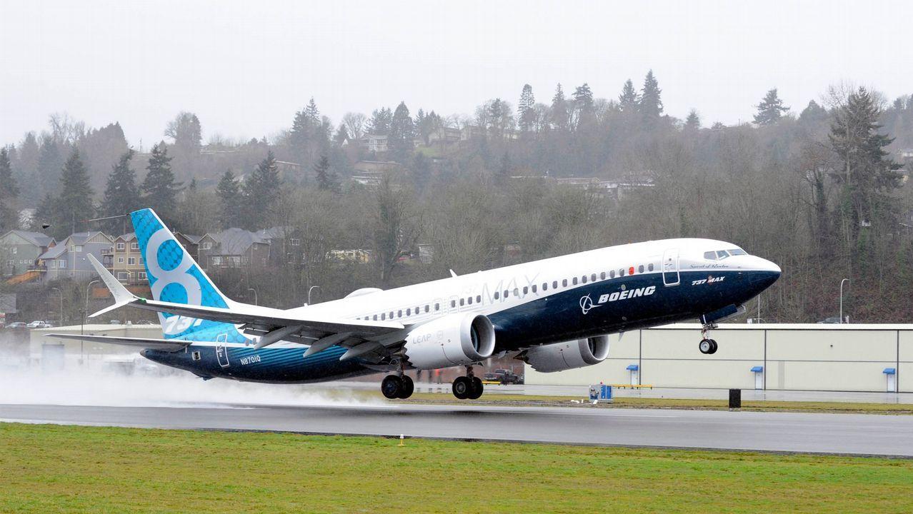 Imagen de archvivo de un Boeing de Ryanair