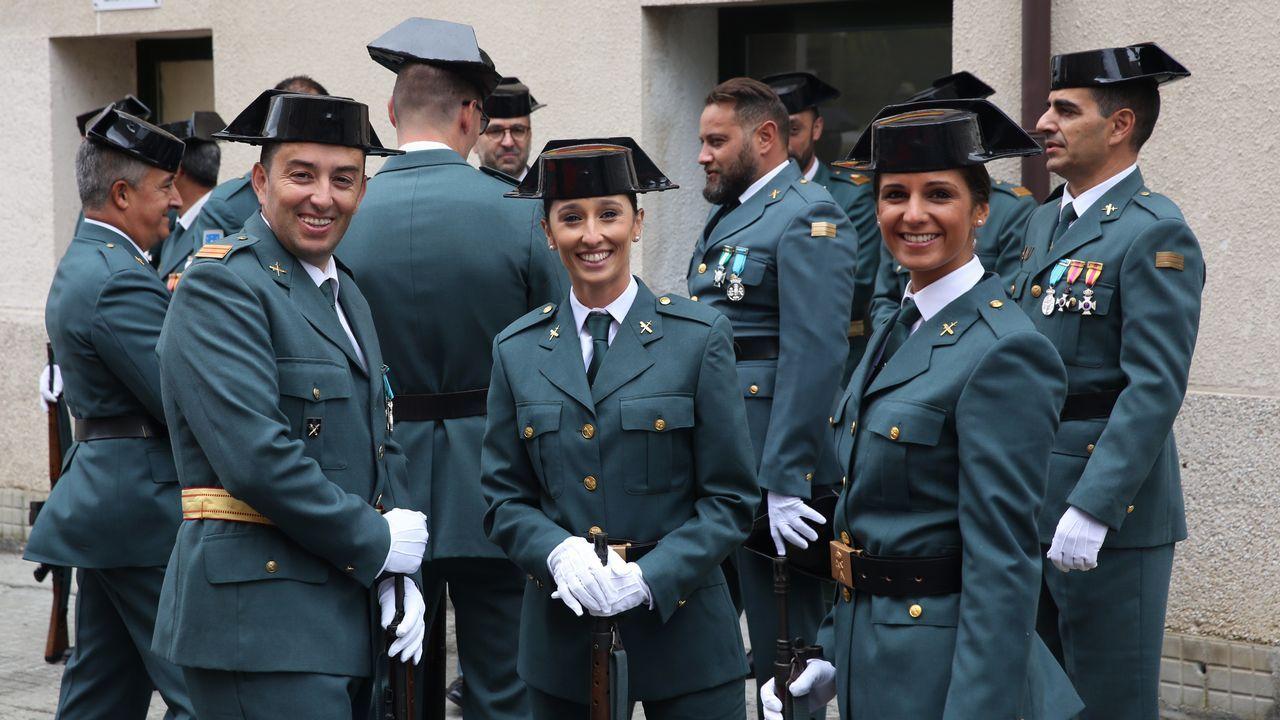 La Guardia Civil celebró el día de su patrona en Ourense