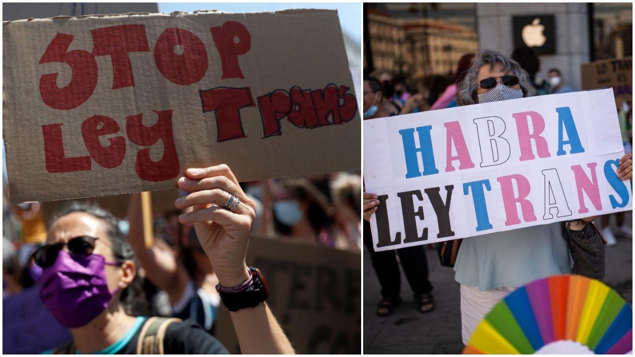 Marcha del Ogullo en A Coruña.En Lugo, ya se celebraron actos relacionados con el Orgullo LGTBIQA+ en días pasados