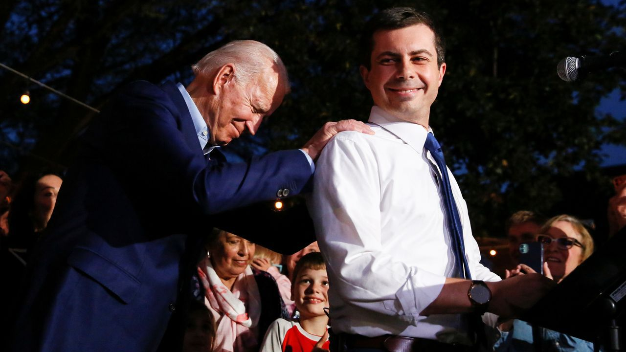 Biden recibe el apoyo de Buttigieg