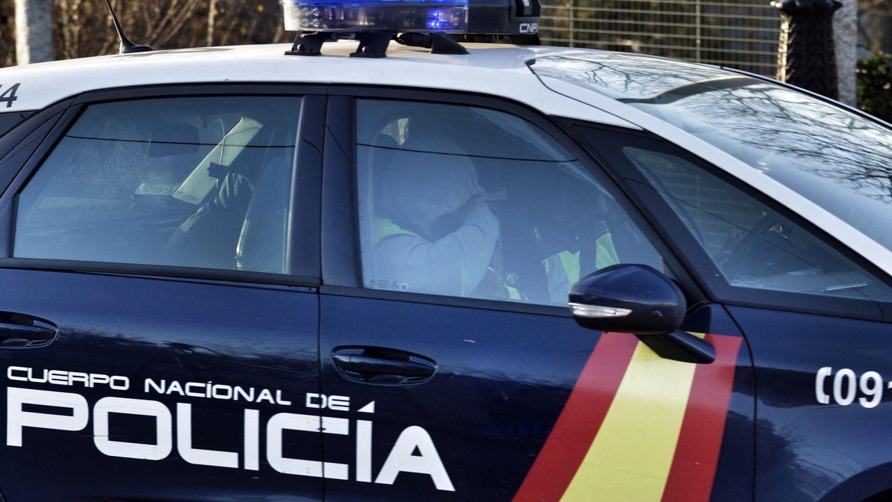 Protesta emigrantes retornados de Ourense