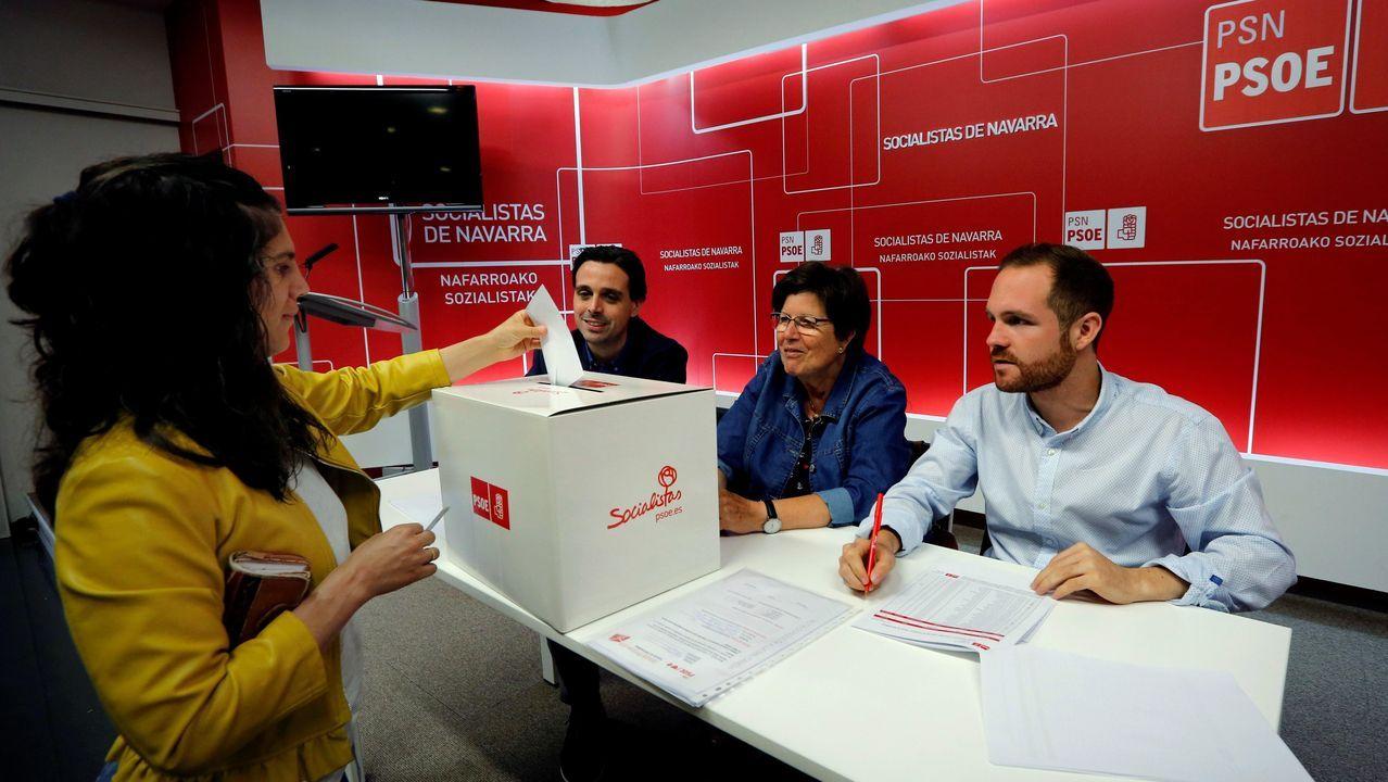 Más de un 89% de los socialistas navarros ratifican el acuerdo con Podemos y Geroa Bai.La militancia socialista dio su respaldo al pacto alcanzado por Chivite con Geroa Bai, Podemos y la filial navarra de Izquierda Unida, que precisará la abstención de Bildu
