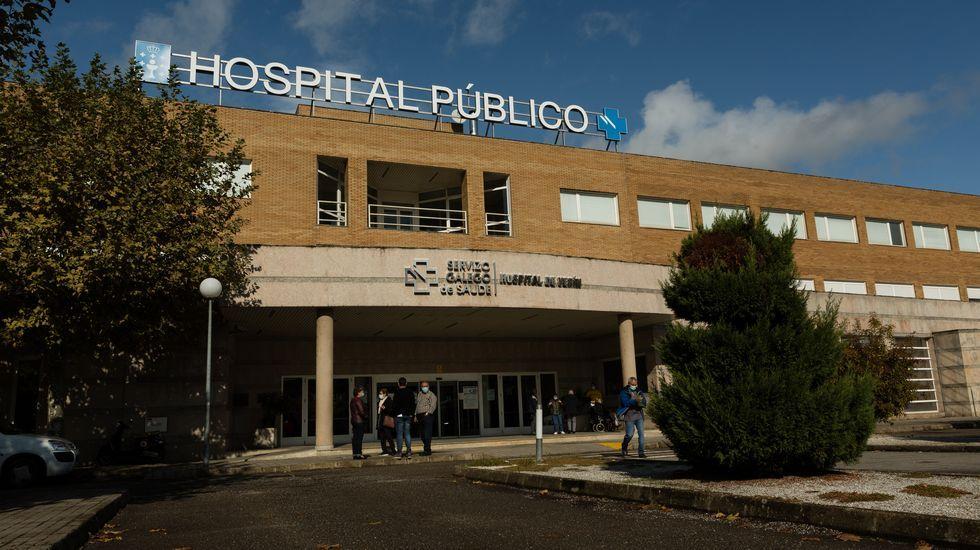 En el Hospital Comarcal de Verín están ingresados 7 pacientes con coronavirus