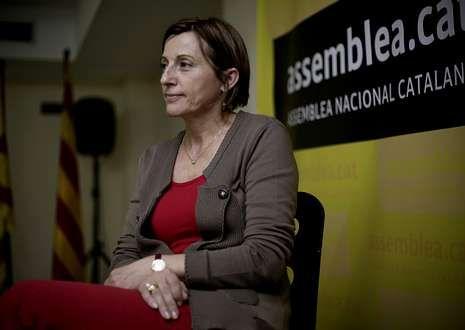 Carme Forcadell, líder de la Asamblea Nacional Catalana, dijo que deberán quebrantar la ley.