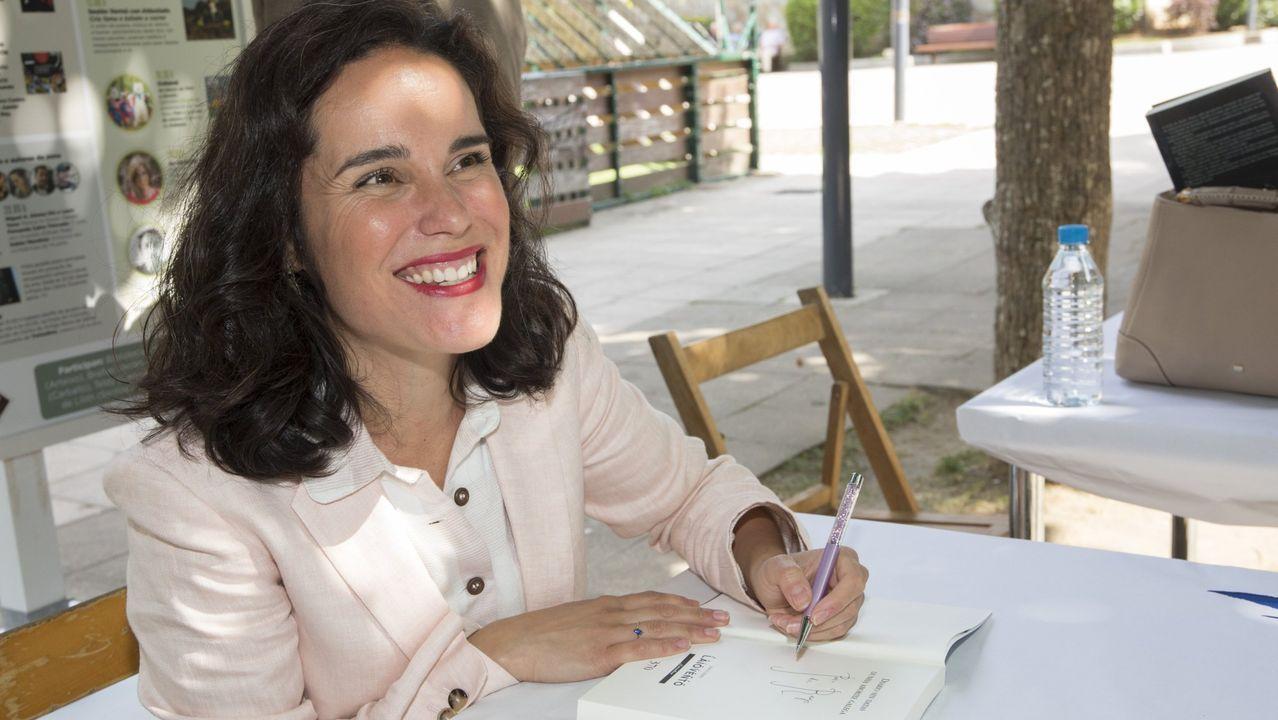 A escritora e editora Diana Varela Puñal