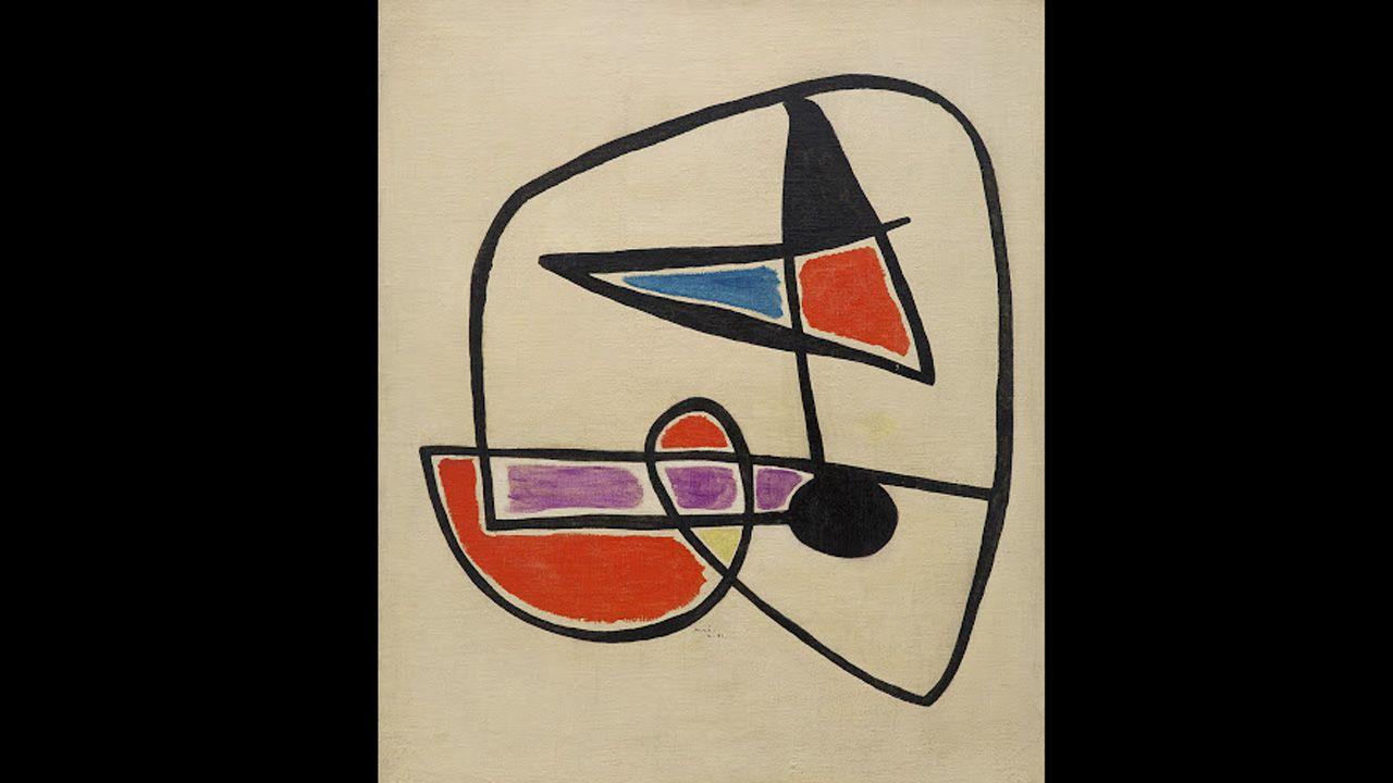 Tête d'homme III (1931), de Joan Miró. Estará en Museo de Bellas Artes de Asturias hasta octubre