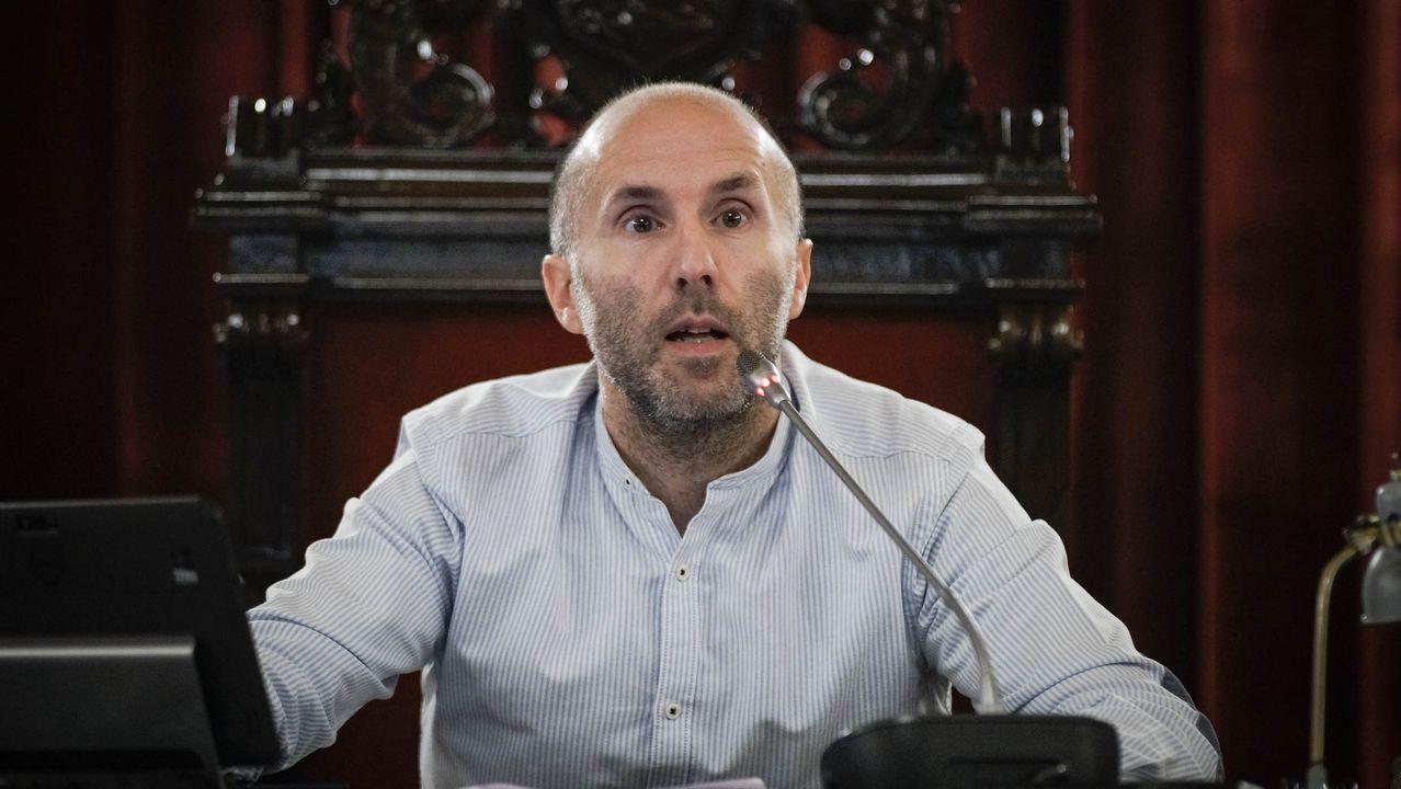José Manuel Baltar, presidente de la Diputación ourensana