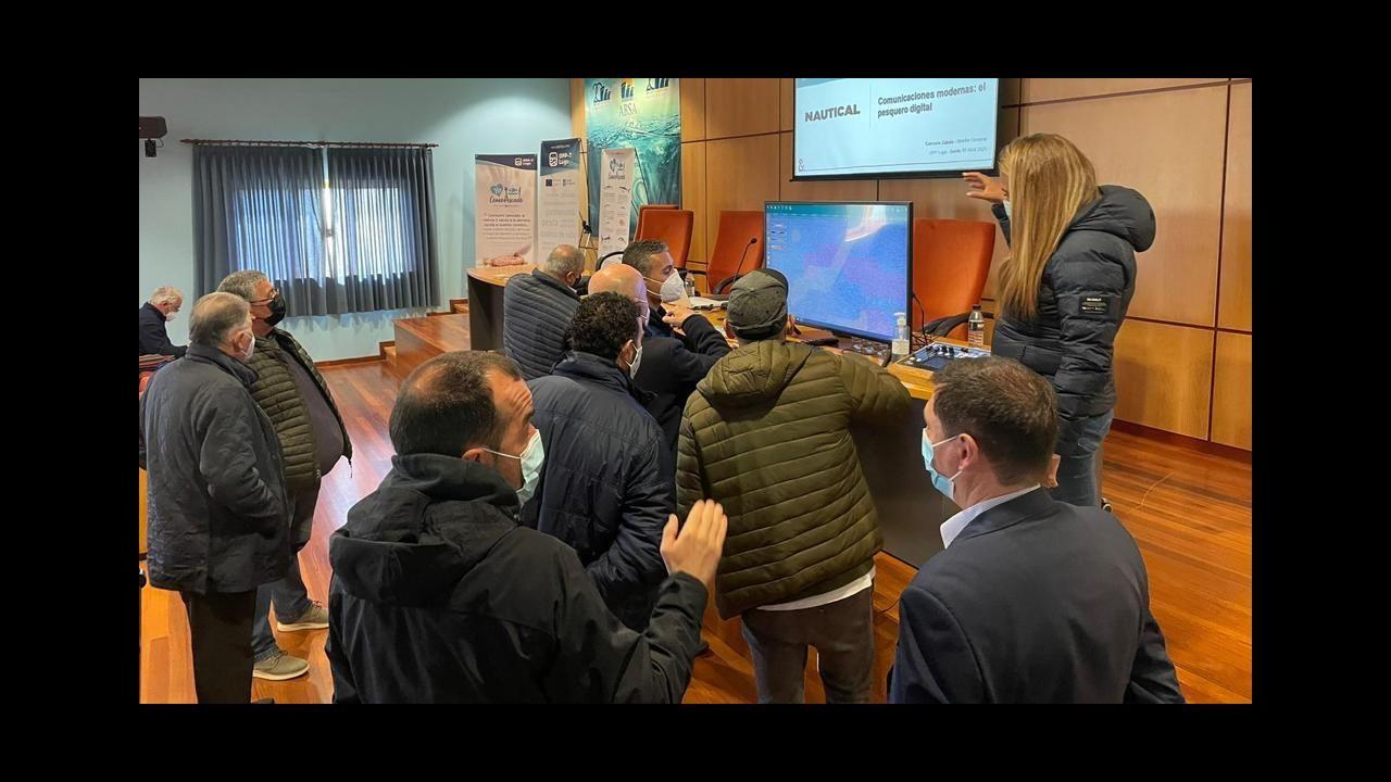 Asistentes a la jornada técnica de la Organización de Productores Pesqueros de Lugo