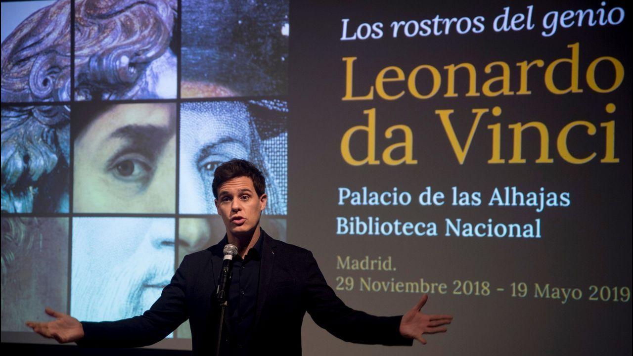 «Leonardo da Vinci: los rostros del genio».afp_20190102_134717863