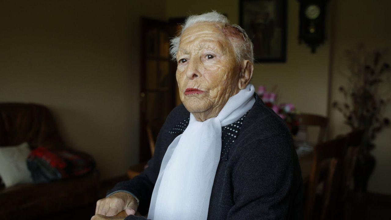 LA VÍCTIMA. Mercedes Crespo (en la foto de archivo, en noviembre del 2019, dos meses después del ataque de los perros), recordó este viernes ante el juez aquel suceso en el que creyó que iba a morir