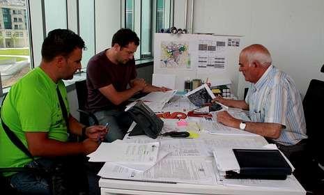 González Bodaño se reunió con responsables de Barreras de Seguridad para planificar estos trabajos.