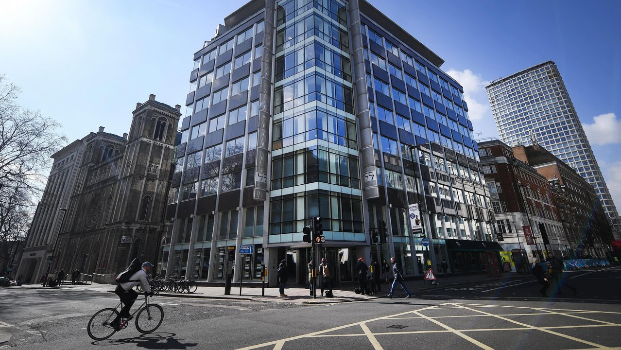 Las oficinas de Cambridge Analytica en Londres