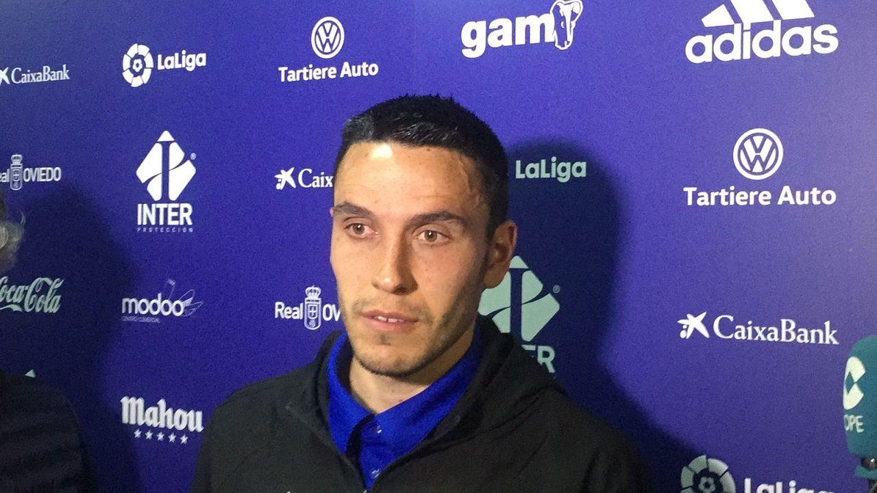 Ramón Folch en zona mixta