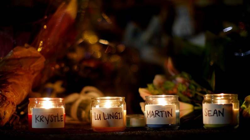 Frustrado un ataque de Al Qaida contra el tren Toronto-Nueva York.Velas en honor a las víctimas