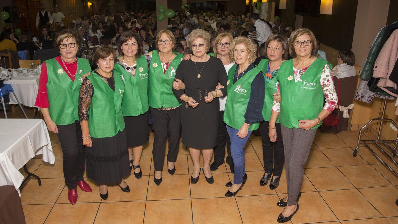 Casi 300 asistentes en la cena de la junta local contra el cáncer de Coristanco.El colegio Antonio Palacios (O Porriño) es uno de los pioneros de los programas de Teachers for Future