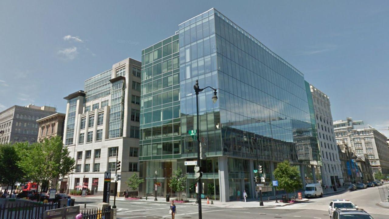 El nuevo edificio adquirido por la familia Masaveu en Washington