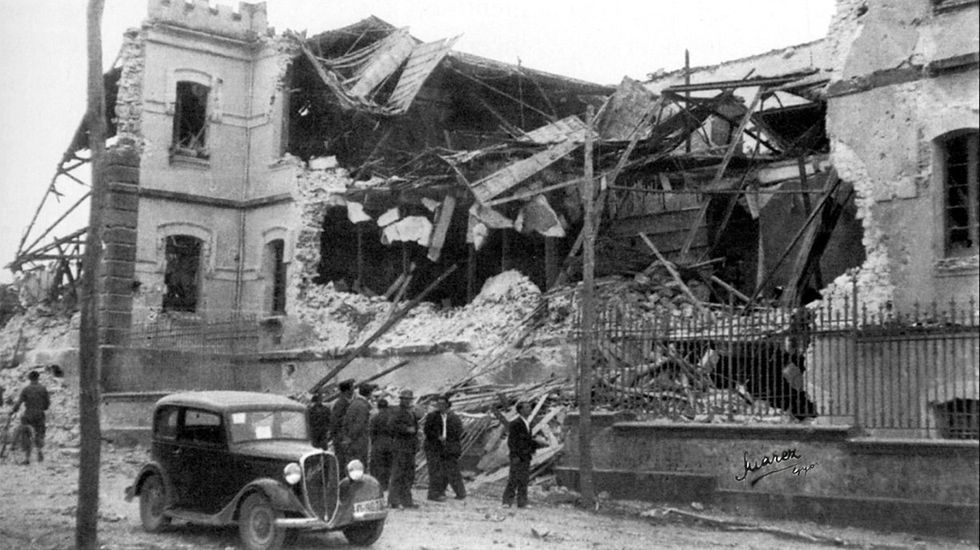 1936: «Gijón bajo las bombas»