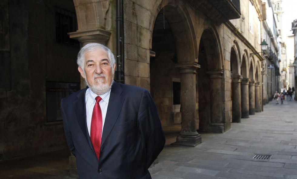 Conde-Pumpido, en una imagen de archivo en Santiago