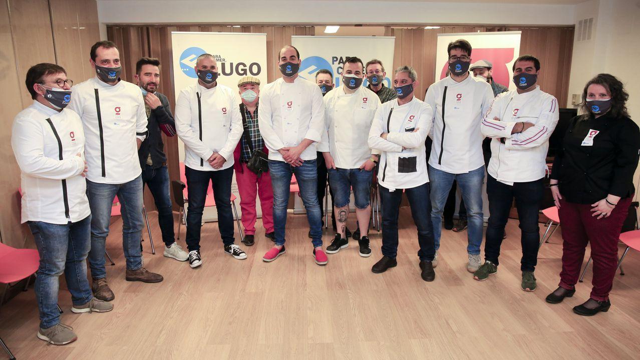 Presentación en la APEHL de la Asociación Provincial de Cociñeiros de Lugo