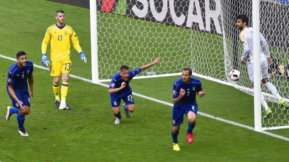 El Italia-España, en fotos