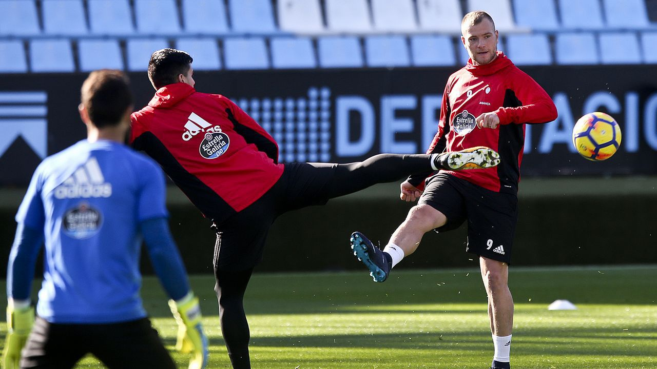 Krohn-Dehli ya está en A Coruña.Celta 2 - Barcelona 2 (2 de diciembre)