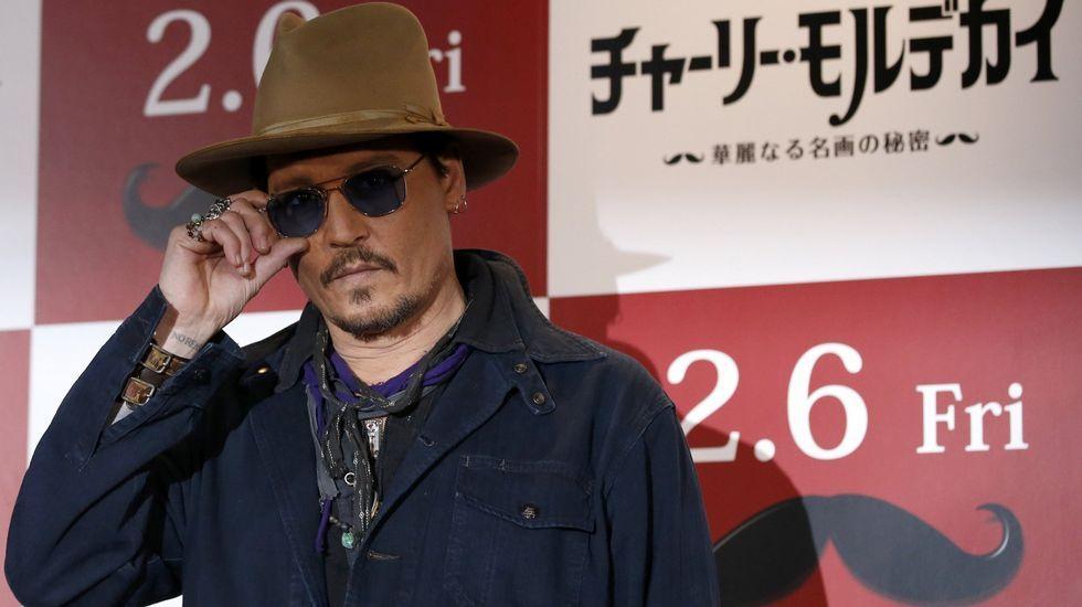 El actor Johnny Depp