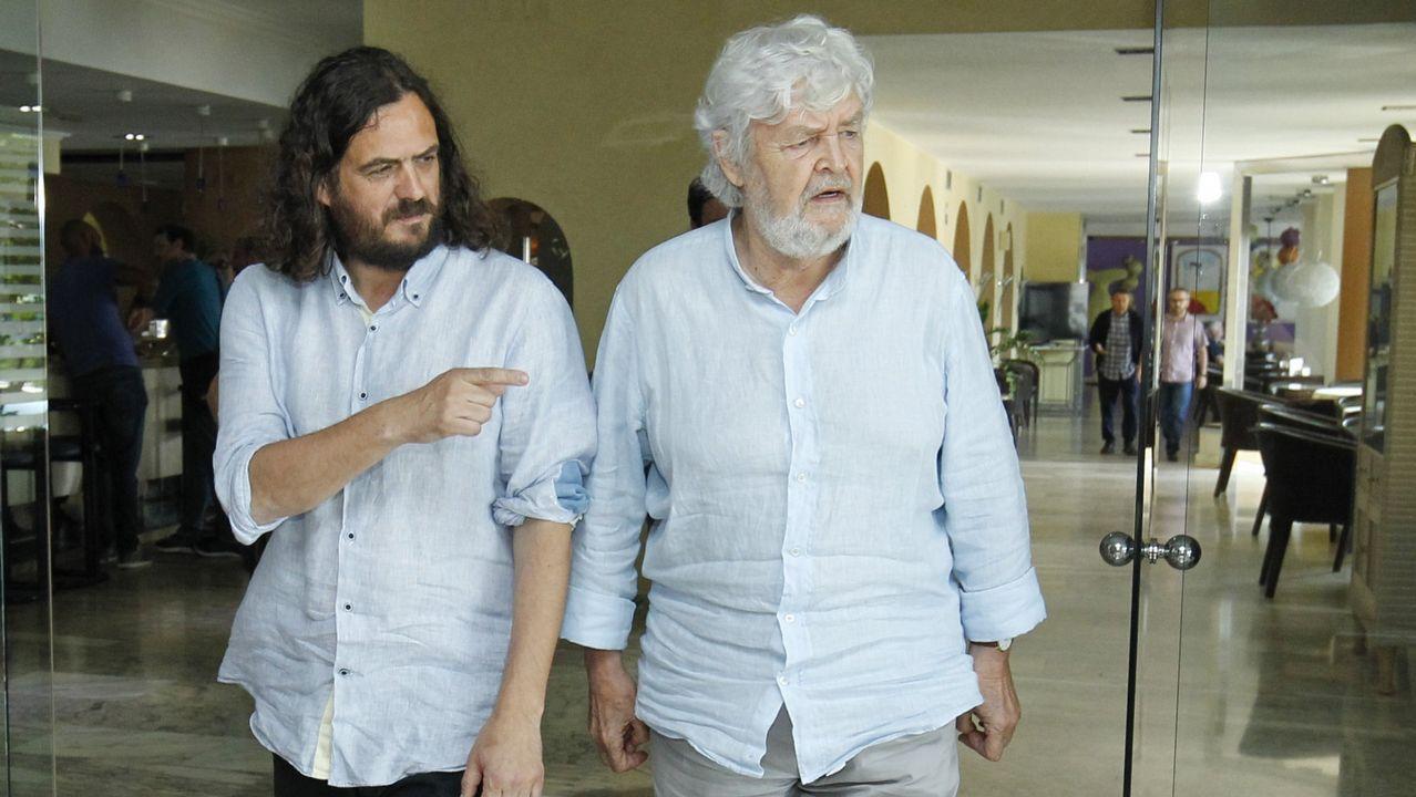 Antón Sánchez y Xosé Manuel Beiras