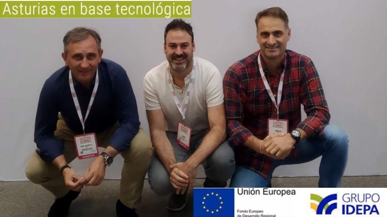 Javier Gómez, Juan Redondo e Ignacio Zabala, parte del equipo de Human Analytics