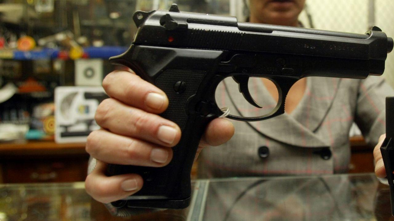 Imagen de archivo de una pistola detonadora