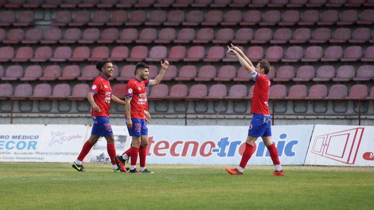 El club ourensano se impuso gracias a un gol de Hugo García en el minuto 10