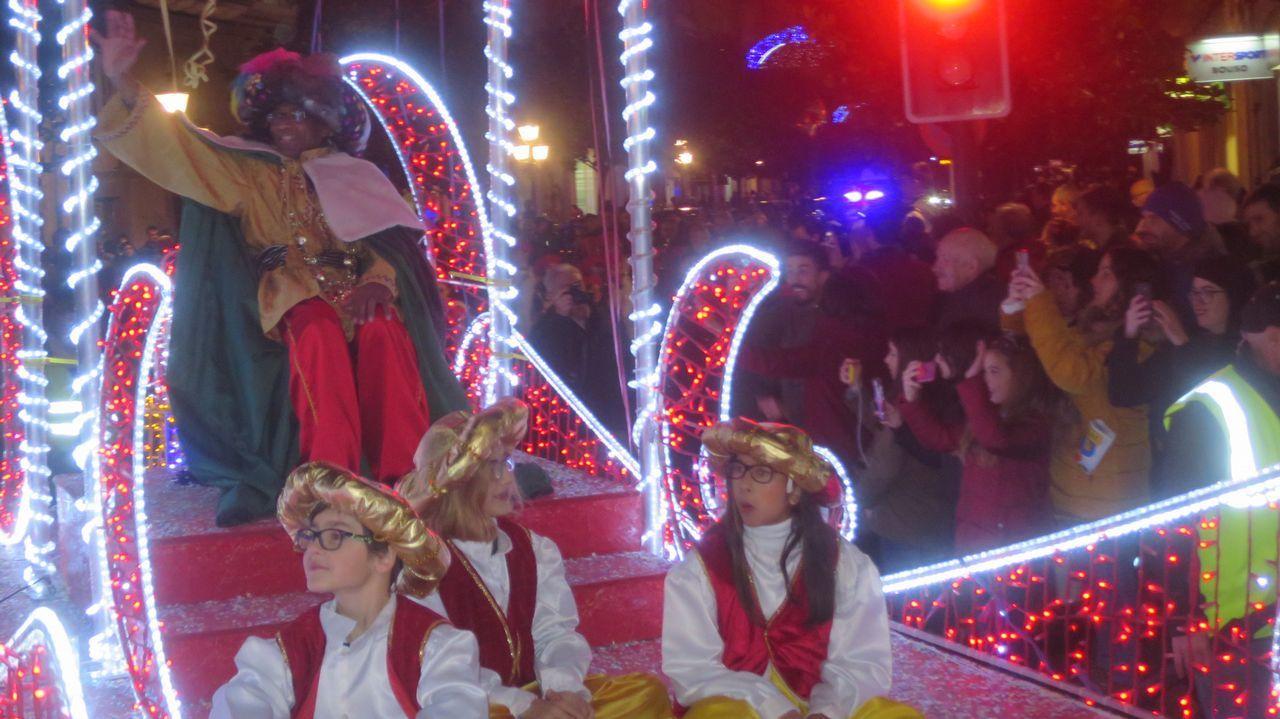 La visita de los Reyes Magos al sur lucense
