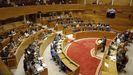 Vista general del Parlamento de Galicia durante el último debate sobre la autonomía