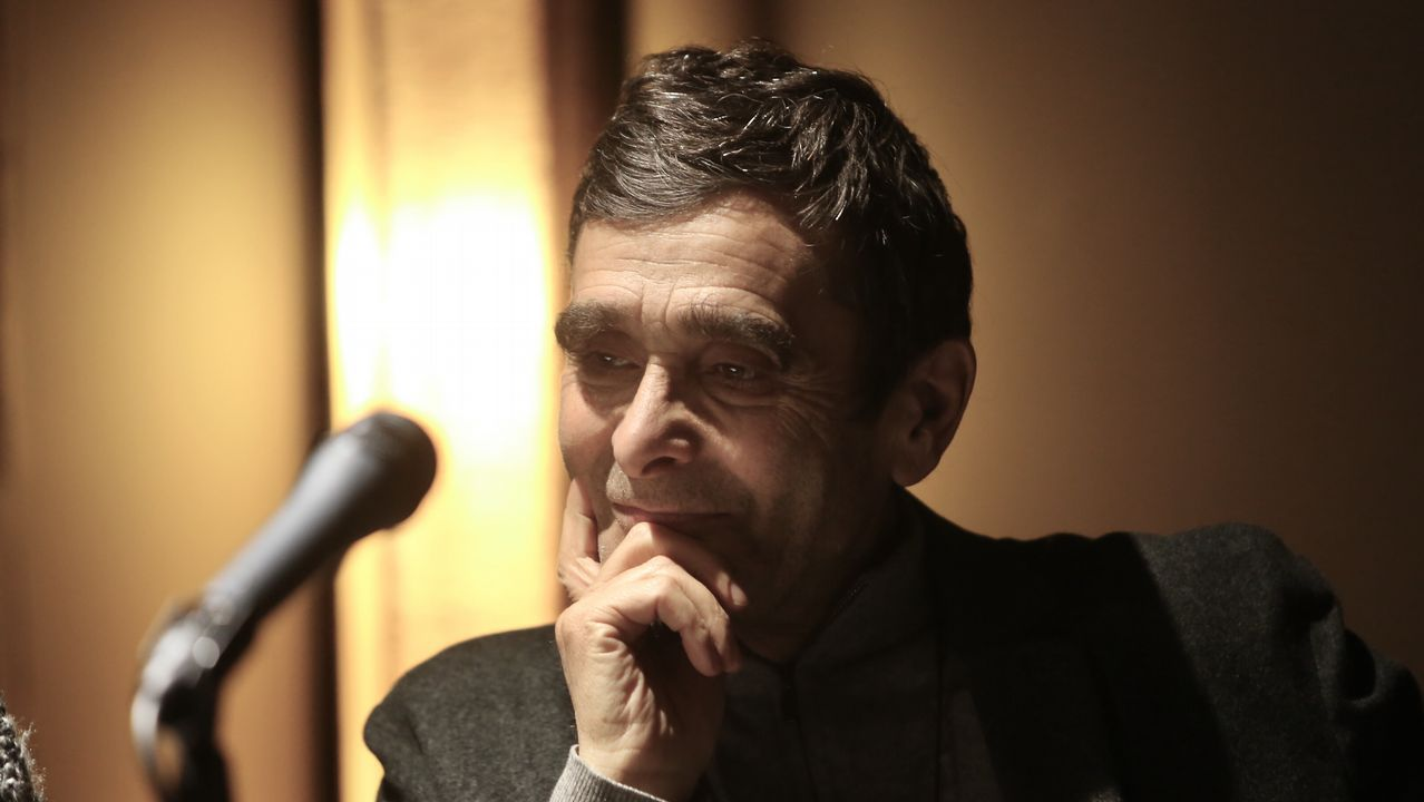 Adolfo Domínguez, en la presentación de su libro en Ourense